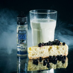 "Blizz ""Blueberry cake with milk"" 60мл"